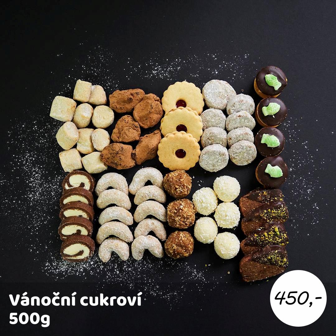 CUKROVÍ 500g